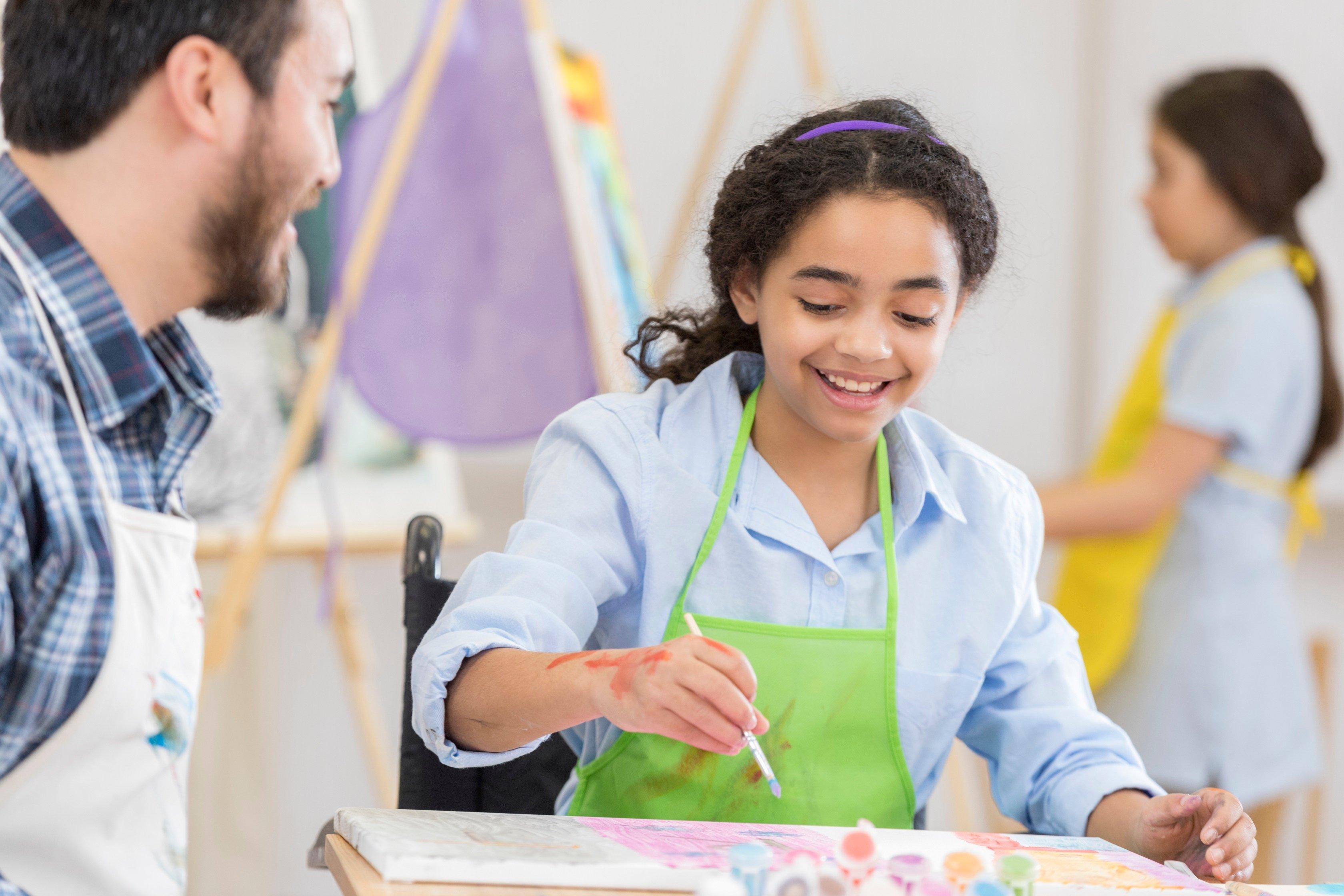An art teacher has two vocations